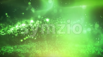 Abstract Fluid Fractal Particles Background Stock Video