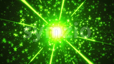 Festive Holiday Stars Background Loop Stock Video