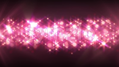 Abstract Glimmering Particles Animation Stock Video
