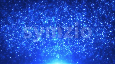 Fairy Magic Light Particles Background Loop Stock Video