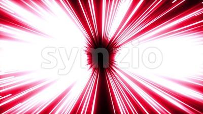 Manga Power Explosion And Blast Stock Video