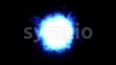 Shockwave Fire Explosion Loop Stock Video
