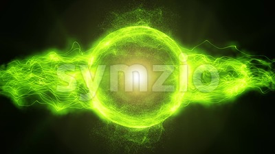 Abstract energy Plasma Background Loop Stock Video
