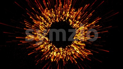 Abstract Starburst Fireworks Stock Video