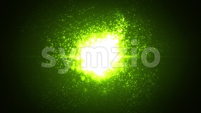 4k Abstract Light Particles Glowing Background Stock Video
