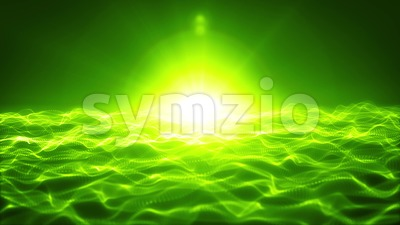 Abstract Background With Grid And Dots Stock Video