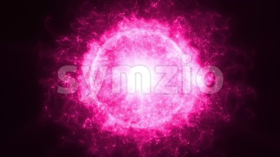 4k Abstract Sun Particles Shining Background Loop Stock Video