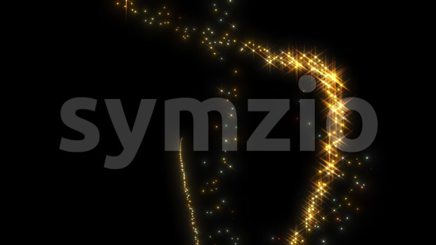 4k animation of an elegant abstract dynamic magic background with fairy light leaks seamless looping and glimmer effect
