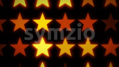 Abstract Glowing Stars Background Stock Video