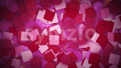 Abstract Scrapbook Paper Notes Background Loop Stock Video