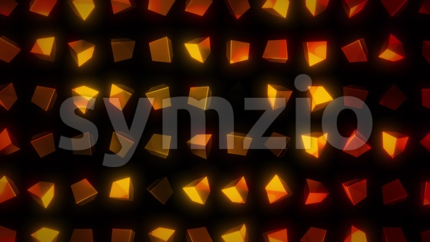 4k animation of an elegant design abstract mosaic background with shapes and patterns fading