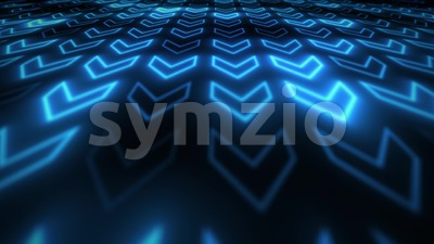 Abstract 3d Digital High Technology Background Loop Stock Video