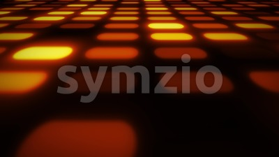 Abstract 3d Glowing Patterns Mosaic Background Stock Video