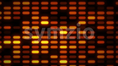 Abstract Glowing Patterns Mosaic Background Stock Video