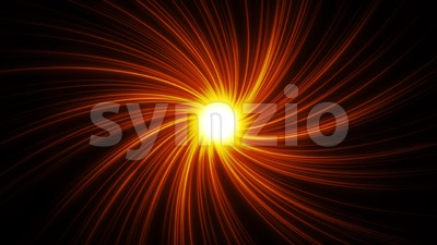 4k Sunshine Spiral Light Background Loop Stock Video