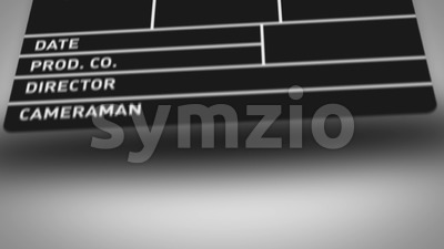 Action Film Clapper Board Background Stock Video