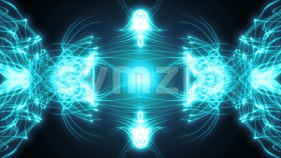 Abstract Fractal Kaleidoscope Fx Loop Stock Video