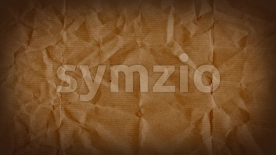 Abstract Grunge Kraft Paper Textured Background Loop Stock Video
