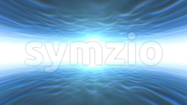 4k animation of an abstract scifi and futuristic light gate background, with tunnel effect seamless looping