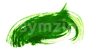 Colored Paint Brushes Stroke Background Loop Stock Video