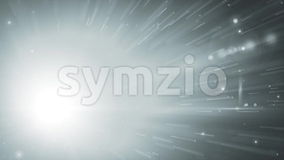 Hyperspace Background With Shining Starburst Stock Video