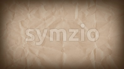 Abstract Grunge Kraft Paper Textured Background Loop Stock Video