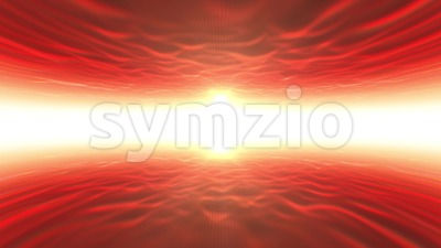 Abstract Space Wireframe Landscape Background Loop Stock Video