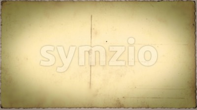 Vintage Postcards Stop Motion Frame Textured Loop Stock Video
