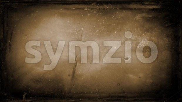 4k animation of a retro motion graphic with old distressed photograph frame texture background seamless looping