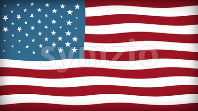 American Flag Textured Background Loop Stock Video