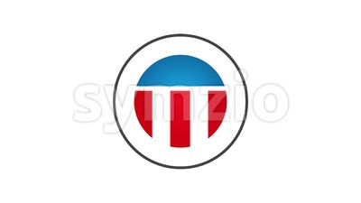 Made In USA Badge Animation Stock Video