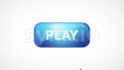Buy Button Icon Mouse Over And Click Stock Video