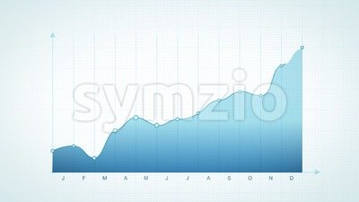 Business Stats And Infographics Layout Stock Video