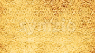 Vintage Ornamental Paper Patterns Textured Background Stock Video