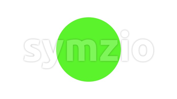 4k animation with check mark icon for business success, or software ok message