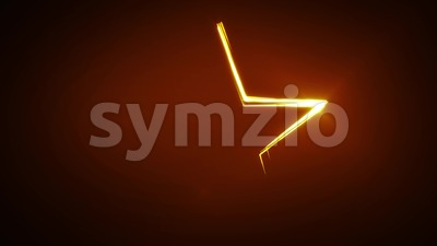 Design Star With Lines Stroke Animation Stock Video