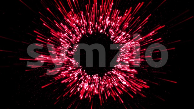 4k animation of an abstract starburst firework background with slow motion effect