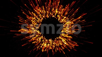 Abstract Slow Motion Beautiful Fireworks Stock Video