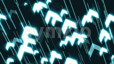 Business Arrows Technology Slow Motion Background Clip Stock Video