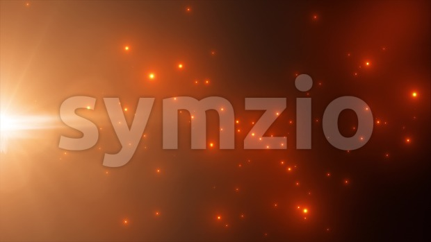 4k animation of an abstract beautiful shining light particle background seamless looping