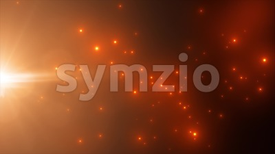 Abstract Light Particle Background Flowing Loop Stock Video