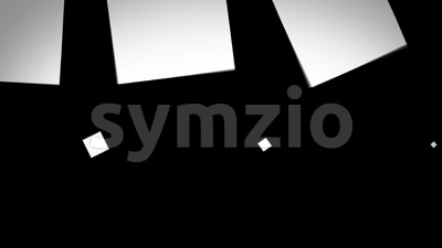 Abstract Elegant Dynamic Transition Mask Fx Background Stock Video