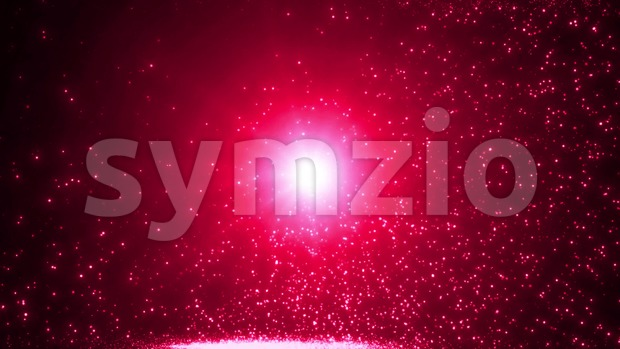4k animation of an abstract beautiful slow motion shining light particle background seamless looping