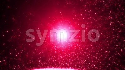 Abstract Light Particle Background Slow Motion Stock Video