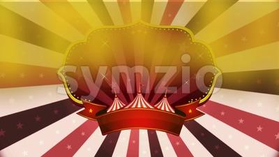4k Vintage Circus Background Stock Video