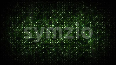 Technology Computer Chipset Background Loop Stock Video