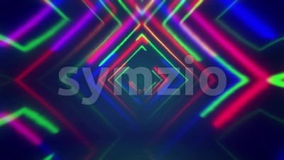 Abstract Psychedelic Background Stock Video