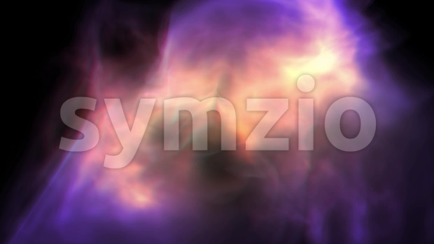 4k animation of an abstract background with fluid particles flying and moving randomly i space, seamless looping