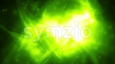 Abstract Flying Particles On Fluid Background Loop Stock Video