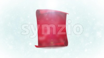 Merry Christmas Winter Postcard Background Stock Video